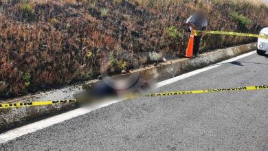 Photo of Encuentran Cuerpo De Abuelito Sobre La Pátzcuaro – Cuitzeo, Habría Sido Atropellado