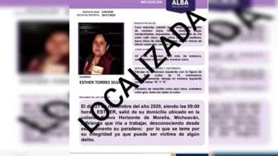 Photo of Localizan En Jalisco A Moreliana Desaparecida En Noviembre