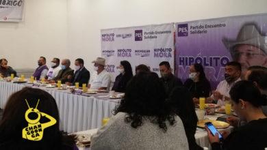 Photo of PES Presenta A Hipólito Mora Fundador De Autodefensas Como Su Gallo A Gubernatura De Michoacán