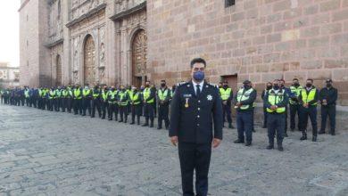 Photo of Con Medidas Vs COVID-19 Y Mucha Fe, Policías Michoacán Celebran Su Día Con Misa