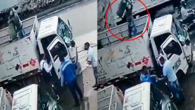 Photo of #Video Para Frustrar Asalto Repartidor De Gas Le Lanza Cilindro A Ratero
