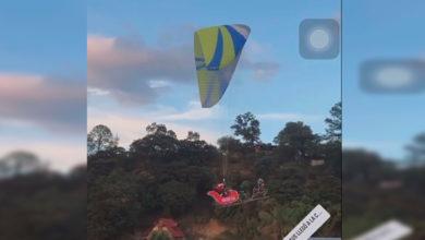 Photo of #OMG Santa Claus Llega A Morelia En Parachute