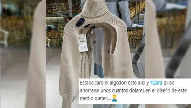 Photo of ¿Para Qué O Qué? Lanzan Suéter Pero Sólo Tiene Las Mangas