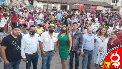 Photo of #Denúnciamesta Sin Susana distancia, Ayuntamiento en Tiquicheo hace mega posada
