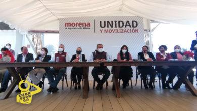 Photo of #Michoacán De 28 Suspirantes De MORENA Inscritos A Gubernatura 9 Dan Apoyo A Morón
