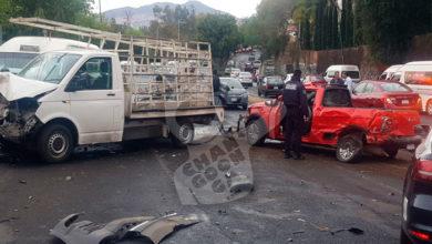 Photo of #Morelia En Choque En Periférico: 3 Lesionados y 5 Carros Involucrados