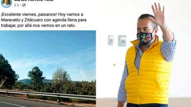 Photo of Casualidad: Herrera Tello Hace Campaña En Maravatío Igual Que AMLO
