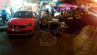 Photo of #Uruapan Aparatoso Accidente Deja Tres Heridos