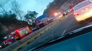 Photo of Choque Múltiple En La Morelia-Pátzcuaro Deja 4 lesionados