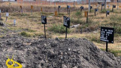 Photo of #Morelia Van 3 Cuerpos Enterrados Sin Identificar En Fosa Común Para COVID -19