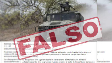 Photo of #Michoacán Desmienten Rumores Sobre Desaparición De Militares