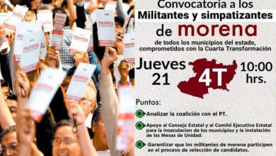 Photo of A Pesar De Pandemia MORENA Convoca A Militantes De Todo Michoacán En Morelia