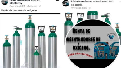 Photo of #Denúnciamesta Advierten posibles estafas con tanques de oxígeno en grupos de Facebook