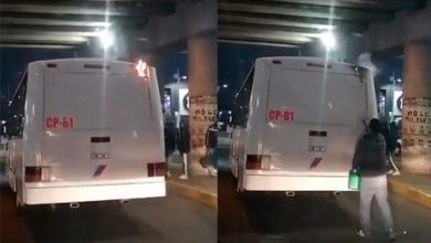 Photo of Pasa En Morelia: Camión Ruta Uno Se Prende Mientras Circula