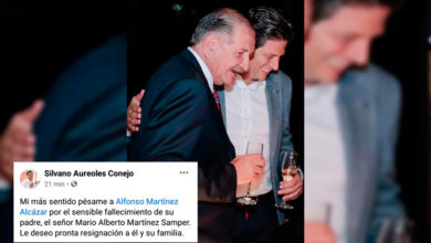 Photo of Silvano Envía Condolencias Por Muerte De Papá De Alfonso Martínez