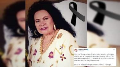 Photo of #Michoacán Muere Doña Amparo De 'Las Jilguerillas'; Silvano Da Pésame