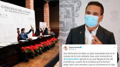Photo of Silvano Se Congratula Por Aprobación De Ley Del Uso Obligatorio De Cubrebocas