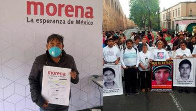 Photo of Vocero De Familiares De Los 43 Normalistas Se Lanza Por Diputación De Morena