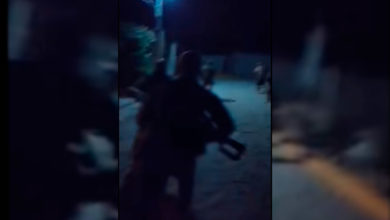 Photo of Michoacán Del Terror: Graban Incursión Nocturna Del CJNG En Pueblito