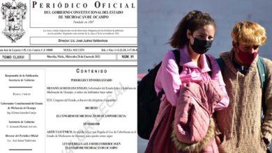 Photo of #Michoacán Publican En Periódico Oficial Ley De Uso Obligatorio De Cubrebocas