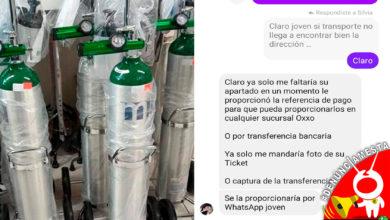 Photo of #Denúciamesta Alertan por perfiles de Facebook que estafan a la gente con tanques de oxígeno