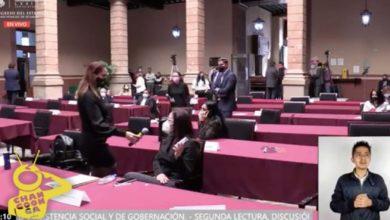 Photo of #Michoacán PT Y MORENA Intentan 'Reventar' Aprobación De Ley Del Cubrebocas En El Congreso