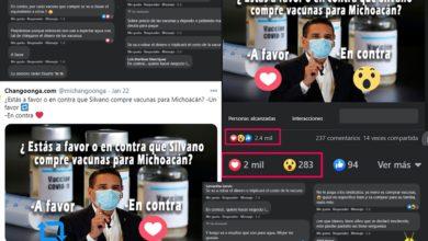 Photo of Encuesta Changoonguera: 85% A Favor Que Silvano Compre Vacunas Para Michoacán