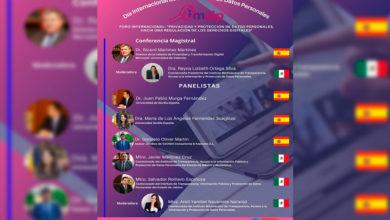 Photo of IMAIP Invita A Su Próximo Foro Internacional Sobre Protección Y Datos Personales