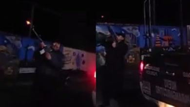 Photo of #Michoacán Captan A Polis Disparando Al Aire En Año Nuevo