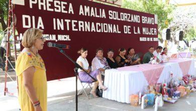 """Photo of #Apatzingán Lanzan Convocatoria Para La Presea """"Amalia Solórzano Bravo"""""""