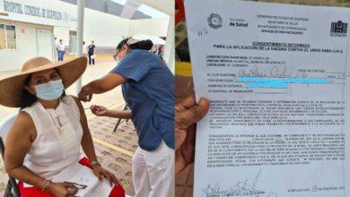 Photo of Funcionaria Morenista Se Salta La Fila Y Presume Aplicación De Vacuna Vs COVID-19