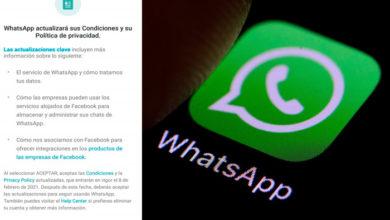 Photo of ¿Aceptas O No? WhatsApp Cambia Sus Políticas y Ya Anda Avisando A Sus Usuarios