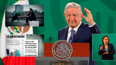 Photo of AMLO Exhibe A Medios Por 'Darse Vuelo' Con Reporte Erróneo De ASF sobre NAICM