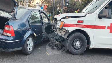 Photo of #Morelia Ambulancia Choca Por Atender Emergencia; Hay 4 Lesionados