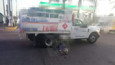 Photo of #Morelia Camión Repartidor De Gas Atropella A Señor Cerca A Las Jacarandas