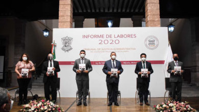 Photo of #Michoacán Recibe Congreso del Estado El Informe De Labores 2020 Del TJAM