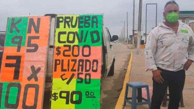 Photo of En México: Venden Pruebas Rápidas COVID En 200 Varos