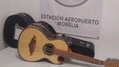 Photo of GN Halla Guitarra Con Más De 1 Kilo De Metanfetamina En Aeropuerto De Morelia