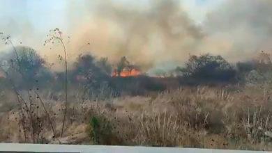 Photo of #Morelia Se Incendia Terreno Baldío Al Lado De Instalaciones Del C5I Michoacán