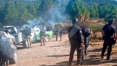 Photo of #Michoacán Enfrentamiento De Polis Vs Grupo Delictivo Deja 1 Muerto Y 3 Detenidos