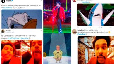 Photo of The Weeknd Se Rifa En Medio Tiempo En Super Bowl, Pero Usuarios Lo Hacen Memes