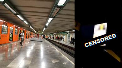 Photo of #OMG Transmiten Video Nopor En Metro De La CDMX; Lo Tachan De Vandalismo