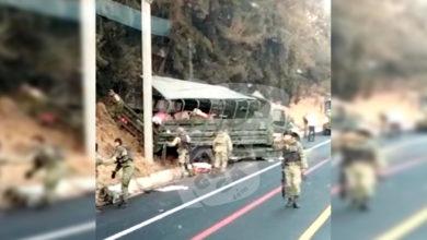 Photo of #Michoacán Militares Se Vuelcan En La Siglo XXI; Hubo Varios Lesionados