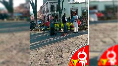 Photo of #Denúnciamesta Músicos señalan: polis amenazan con encarcelarlos si no se retiran de plaza