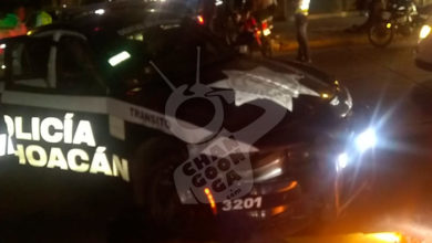 Photo of #Morelia Choque Entre Patrulla Y Carro Particular Deja Dos Lesionados En Acueducto