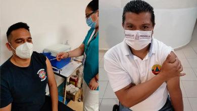 Photo of #Morelia Elementos De Protección Civil Y Bomberos Reciben Vacuna Anticovid