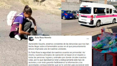 Photo of #Morelia Ruta Rosa Asegura Cooperará Para Que Se Esclarezca Atropello A Perrito