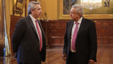 Photo of AMLO Le Da La Bienvenida Al Presidente Argentino Y Confirma Que Irá A La Mañanera
