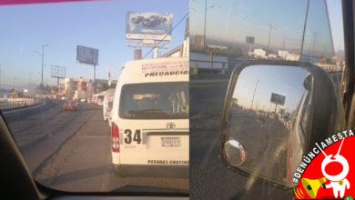 Photo of #Denúnciamesta Combis duran hasta dos horas para poder cargar gas