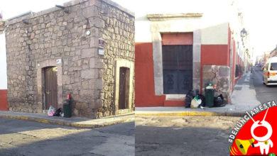 Photo of #Denúnciamesta: Vecinos de Virrey de Mendoza dejan su basura en botes de la vialidad